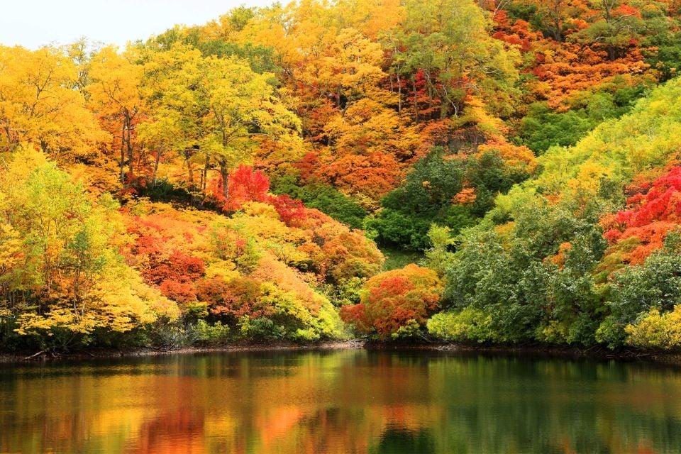 Il Parco Nazionale di Daisetsuzan, Giappone, Il Parco Nazionale di Daisetsuzan, I paesaggi, Giappone