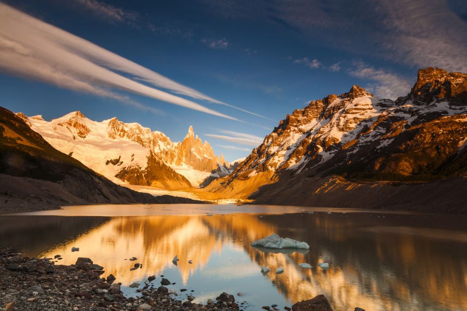 The Patagonia plateaux and the Andean Lake District , The Patagonia Mountains , Argentina
