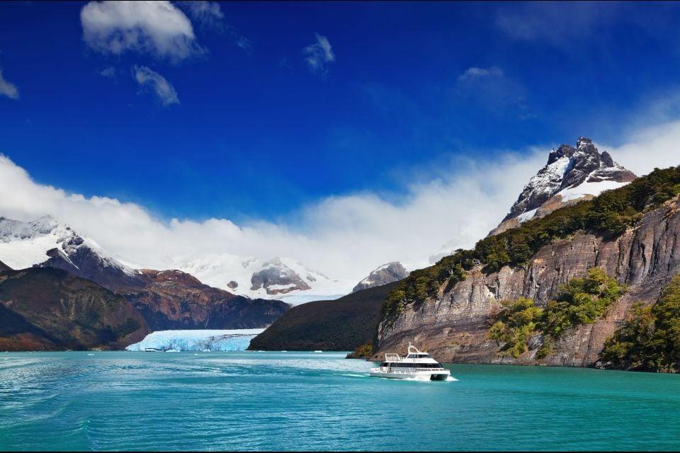 Argentine, amérique, amérique, latine, Patagonie, cordillière, Spegazzini, Glacier, lac, argentino, andes