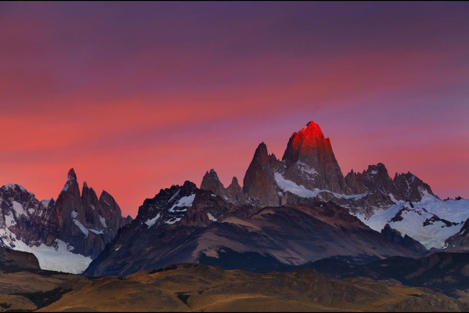 The Patagonia plateaux and the Andean Lake District , The landscapes of Patagonia , Argentina