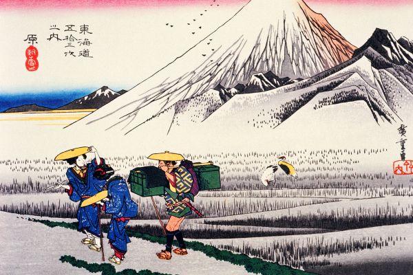 El teatro, la pintura y la arquitectura , La pintura japonesa , Japón