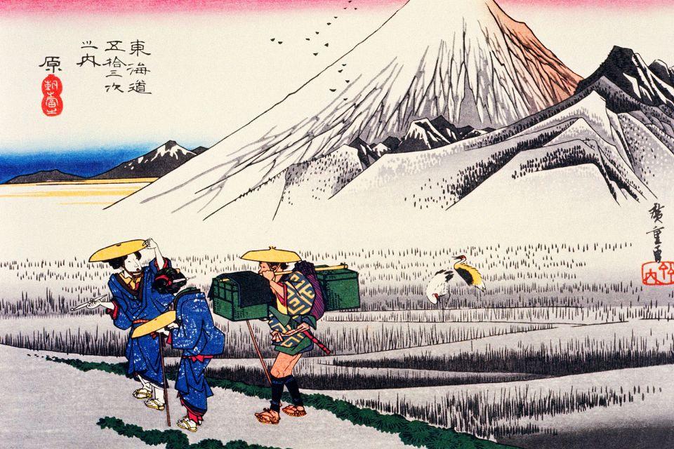 Il teatro, la pittura e l'architettura , La pittura giapponese , Giappone