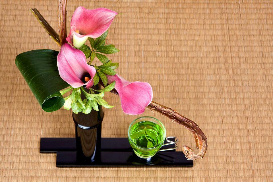 Il principio trinitario, L'ikebana, Le arti e la cultura, Giappone