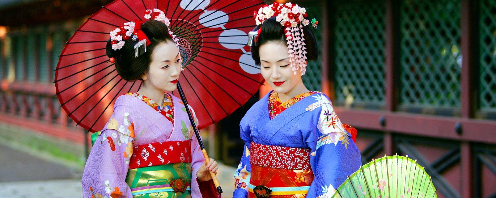 Geishas, Sumo, Traditions, Japan