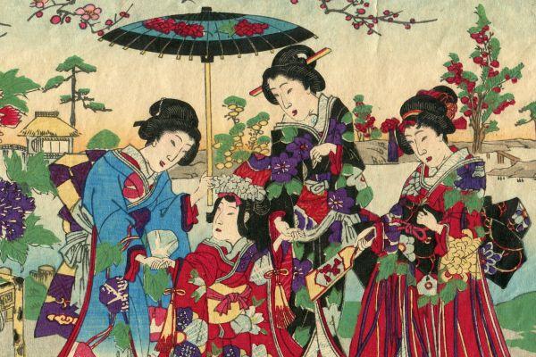 Fuente de inspiración, El sumo, Las tradiciones, Japón