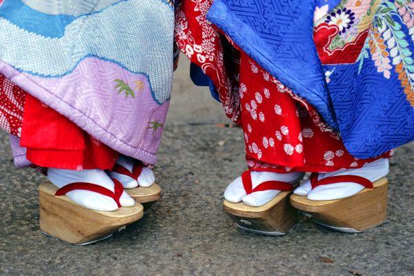 Las geta, El sumo, Las tradiciones, Japón