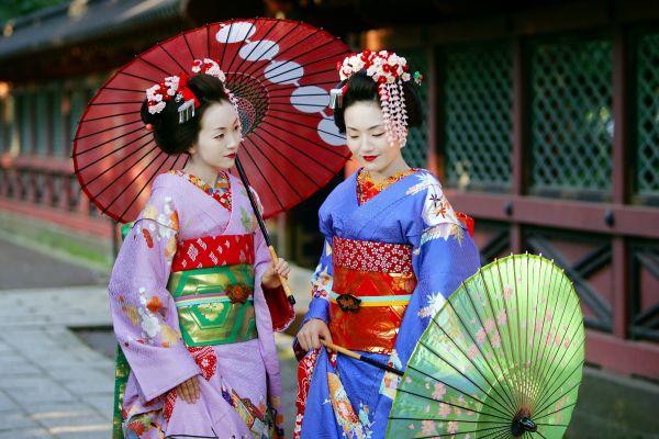 Las geishas, El sumo, Las tradiciones, Japón