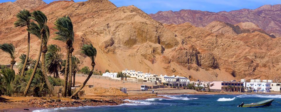Il golfo di Aqaba, Giordania