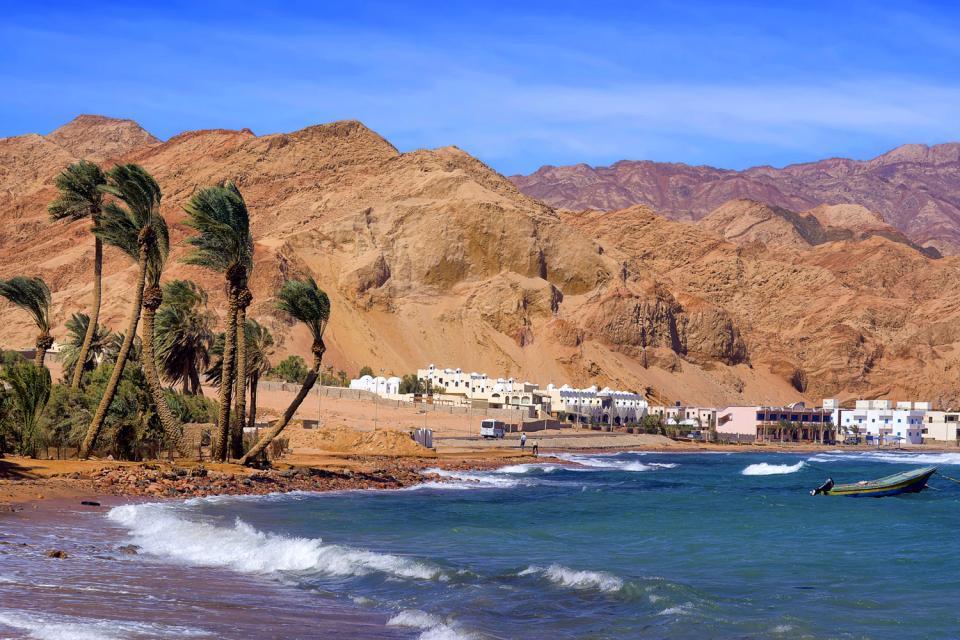 Il Golfo di Aqaba , Il golfo di Aqaba, Giordania , Giordania