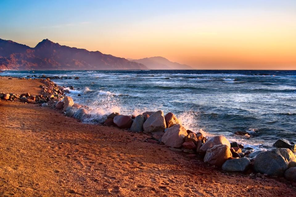 Il Golfo di Aqaba , Giordania
