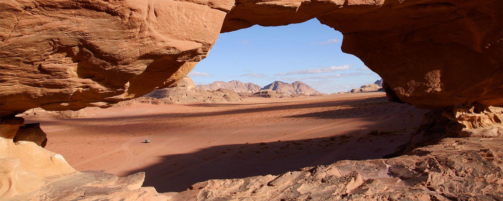 The Wadi Rum Desert Jordan