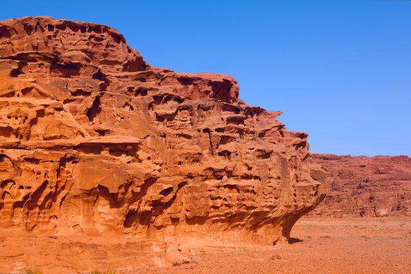 Les paysages, Jordanie, désert, moyen-orient, wadi rum