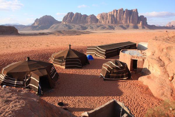 Les paysages, Jordanie, désert, moyen-orient, wadi rum, bivouac, nomade, tente