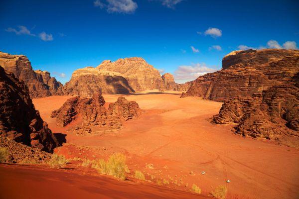 Les paysages, Jordanie, désert, moyen-orient, wadi rum, voiture, 4x4, jeep