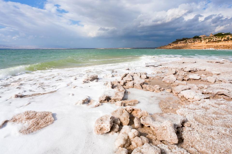 El Mar Muerto , Jordania
