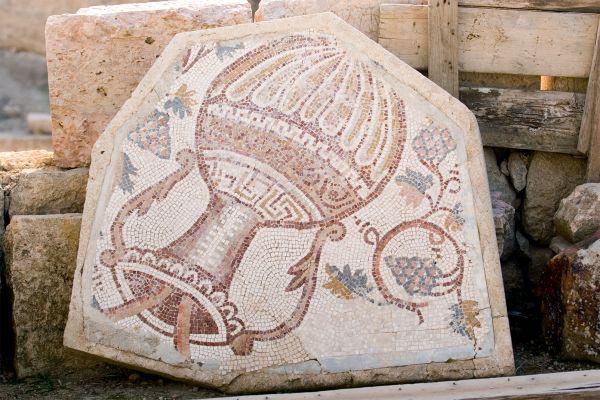 Les arts et la culture, jordanie, mosaïque, vestige, art, moyen-orient, amphore
