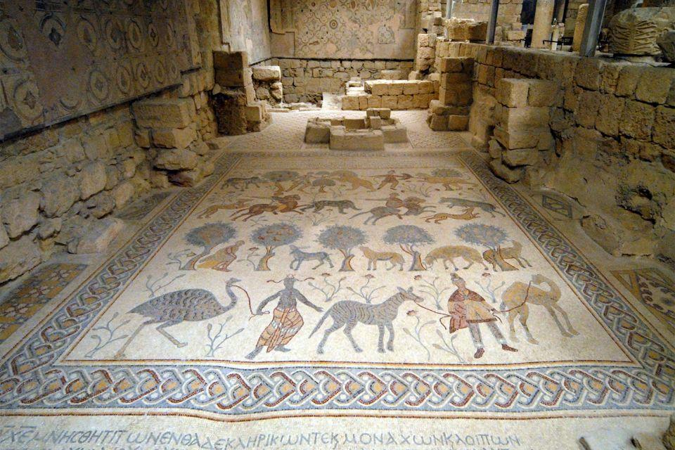 , Los mosaicos bizantinos, Arte y cultura, Jordania