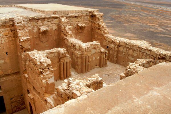 Les arts et la culture, karavansarai, kharana, kharanah, jordanie, moyen-orient, khsar, kharaneh, qusay, désert, chateau