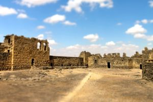 Los castillos del desierto , Castillo de Quasar Al-Kharana , Jordania
