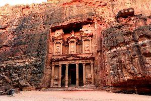 Pétra , Vestigios antiguos en Petra, Jordania , Jordania