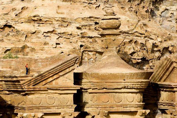 Pétra , Petra, la capitale des Nabatéens , Jordanie