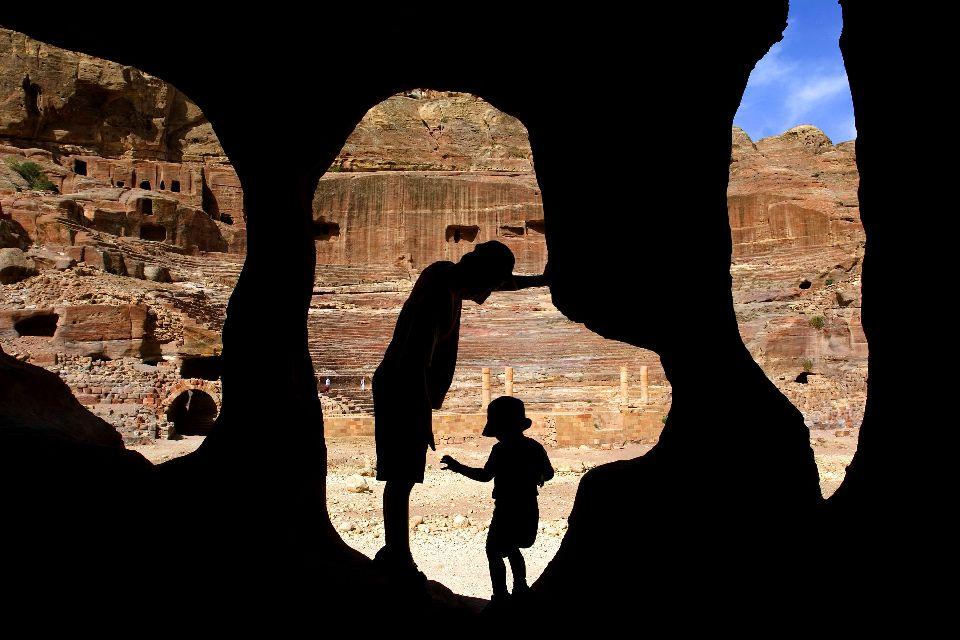 Pétra , Petra, una meraviglia del Medio Oriente , Giordania