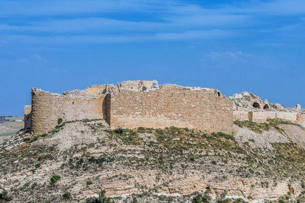 Il castello di Shawbak, I monumenti, Giordania
