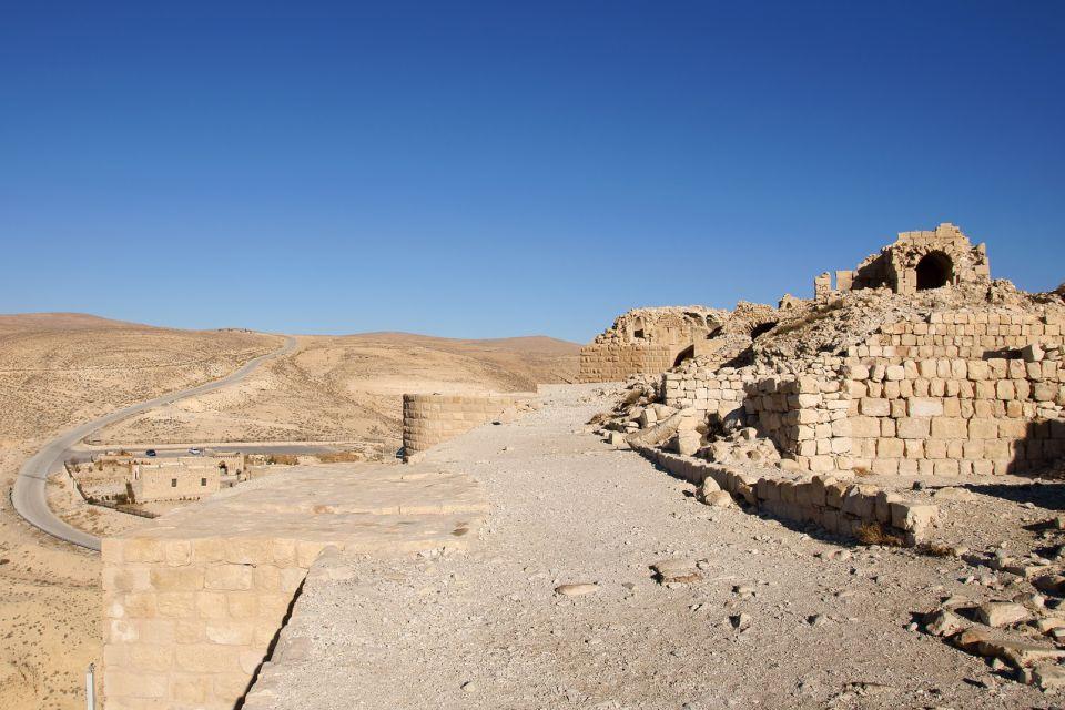 Les monuments, Shobak, croisé, château, forteresse, Jordanie, Moyen-Orient, shaubak, ruines, vestiges