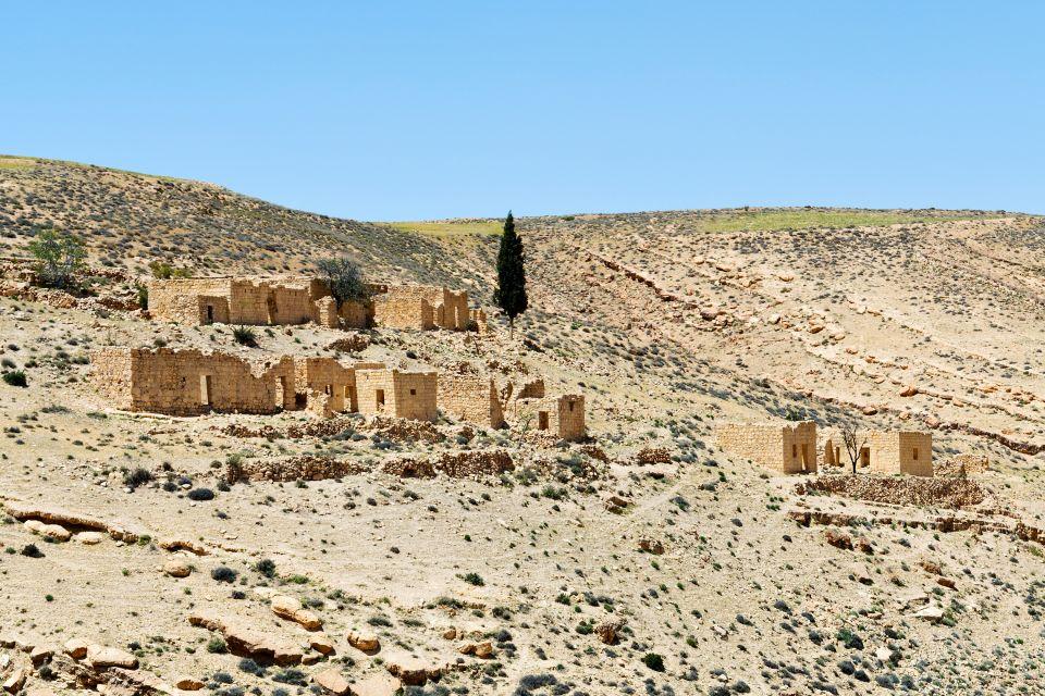 , El castillo de Shobak, Los monumentos, Jordania