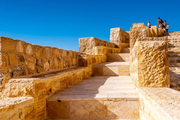 Les monuments, jordanie, qsar, désert, moyen-orient, chateau, moyen-age, croisade, Kérak, fort, fortification, forteresse