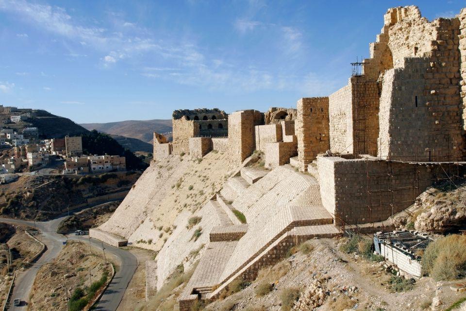 Kérak, Los monumentos, Jordania