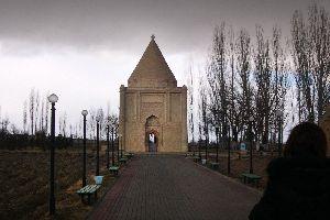 Les mausolées Aïcha Bibi et Babadji , Kazakhstan
