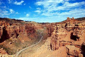 Le canyon Charyn , Kazakhstan