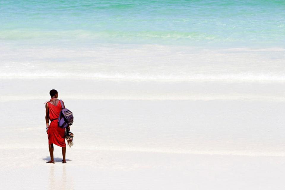 Le spiagge di Mombasa , Kenya