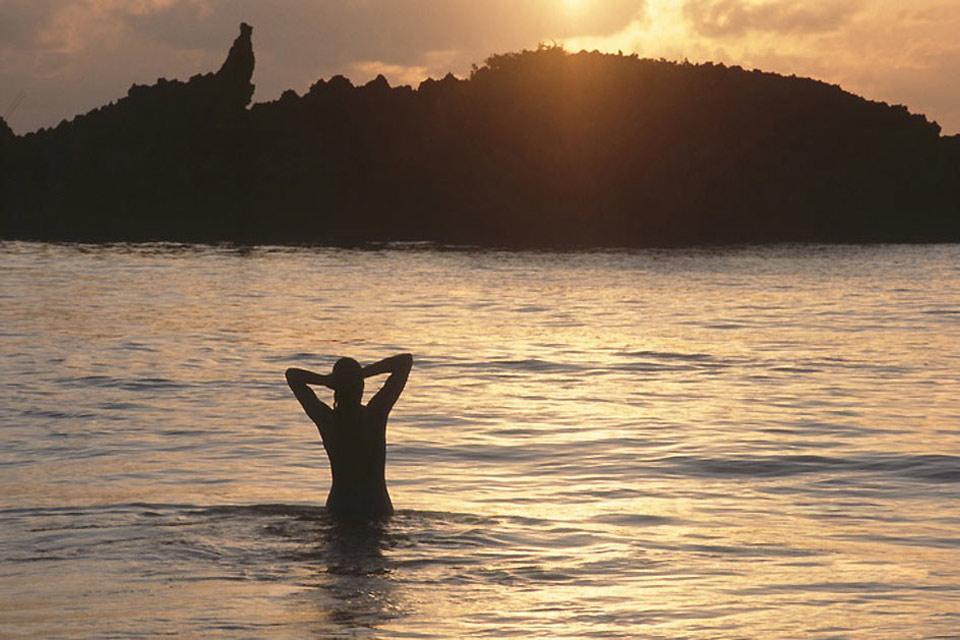 Les plages de Mombasa , Les couchers de soleil , Kenya