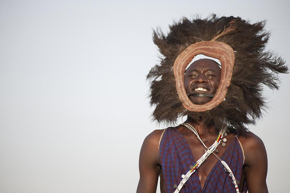 Los espectáculos , Los masáis , Kenia