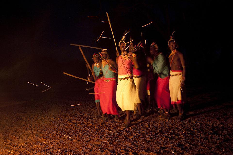 Los espectáculos , Bailes tradicionales , Kenia