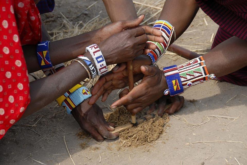 Los espectáculos , El respeto de la naturaleza , Kenia