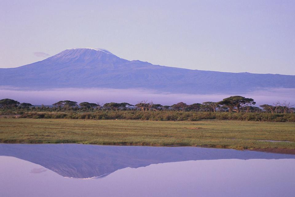La reserva de Amboseli , El tamaño del parque , Kenia