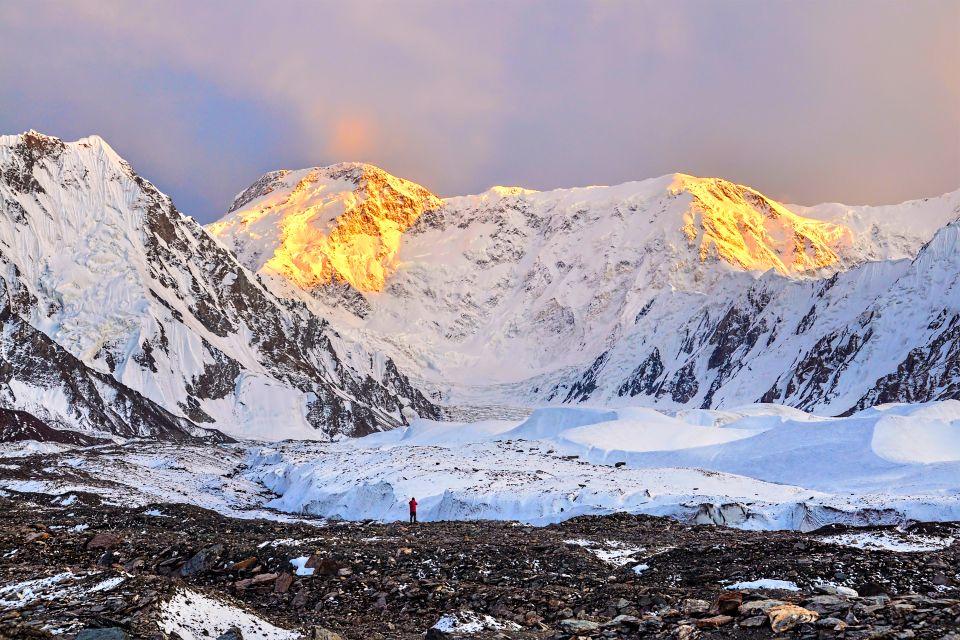 , Inylchec glacier, Landscapes, Kyrgyzstan