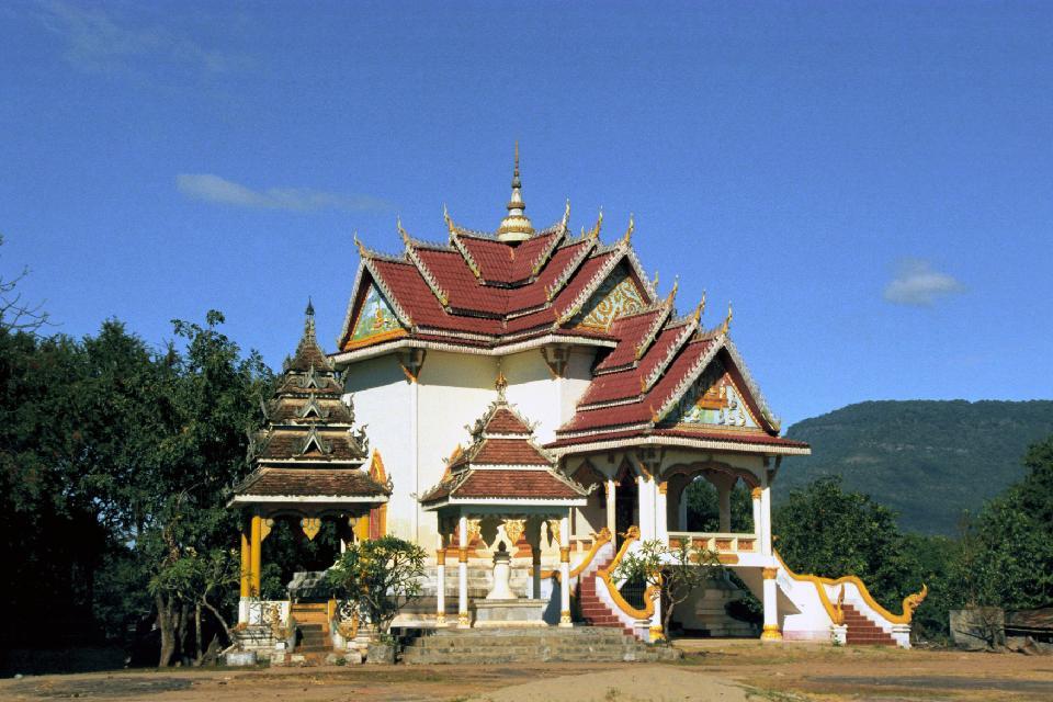 Architektur und Musik , Laos