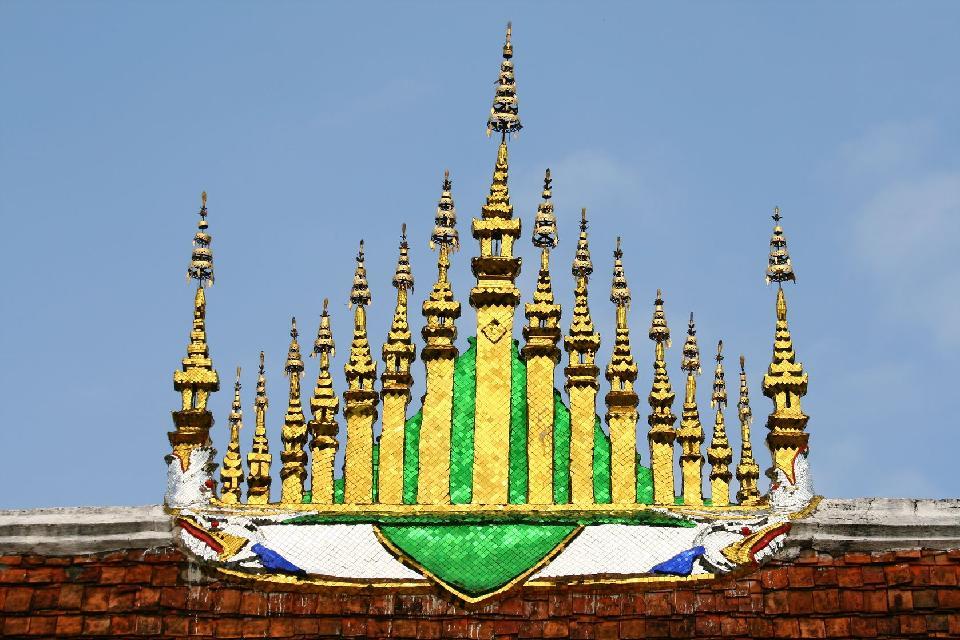Der Tempel Vat Xieng Thong , Laos