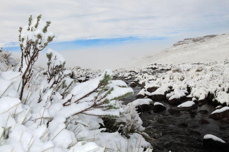 Les paysages, Lesotho, maluti, hiver, neige, afrique
