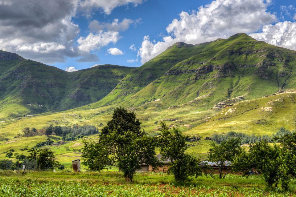 Les paysages, Lesotho, maluti, Butha-Buthe, afrique