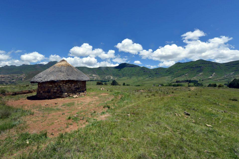 Les paysages, Lesotho, afrique, highlands, village, hutte, Butha-Buthe