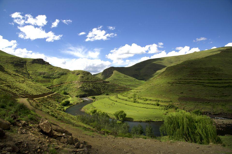 Les paysages, Lesotho, afrique, highlands, vallée, bokong