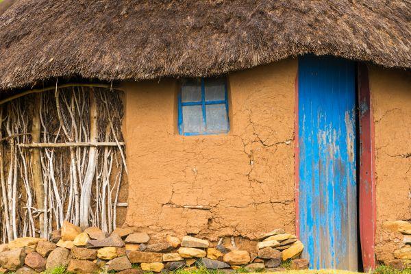 Les arts et la culture, Afrique, Lesotho, basotho, habitation