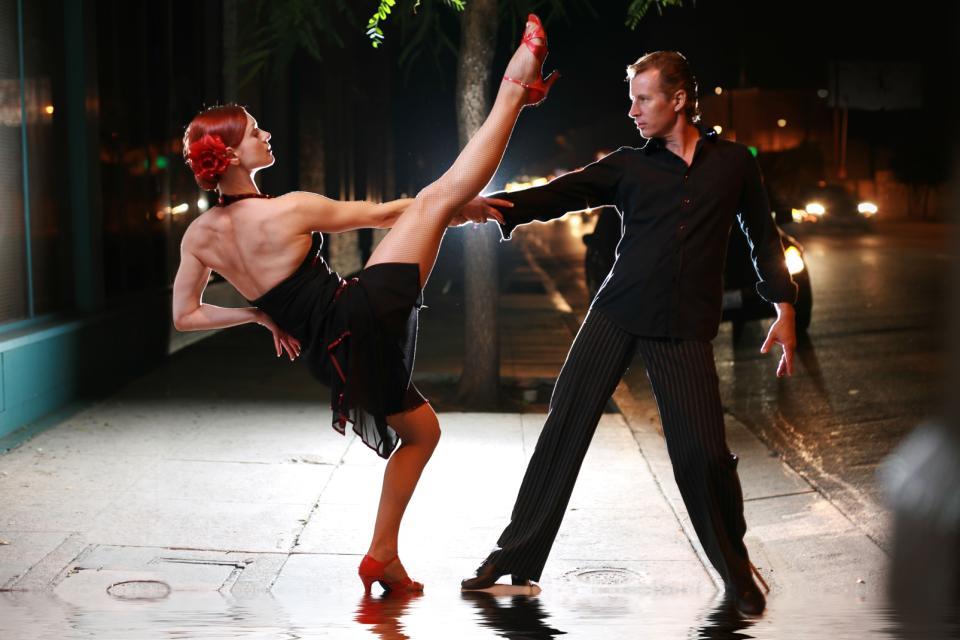 Le tango , Danseurs de Tango , Argentine