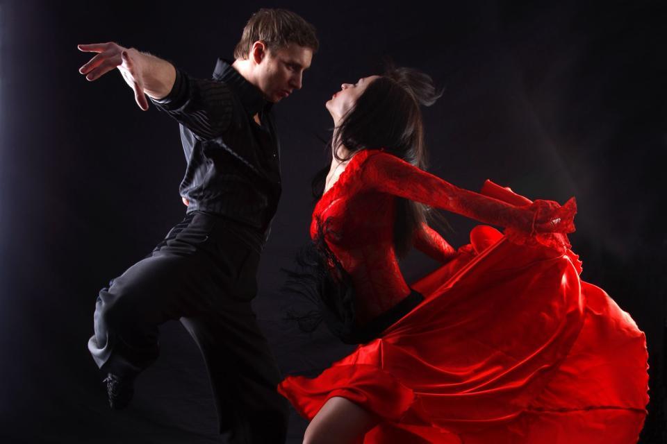 Le tango , Répétition de Tango , Argentine