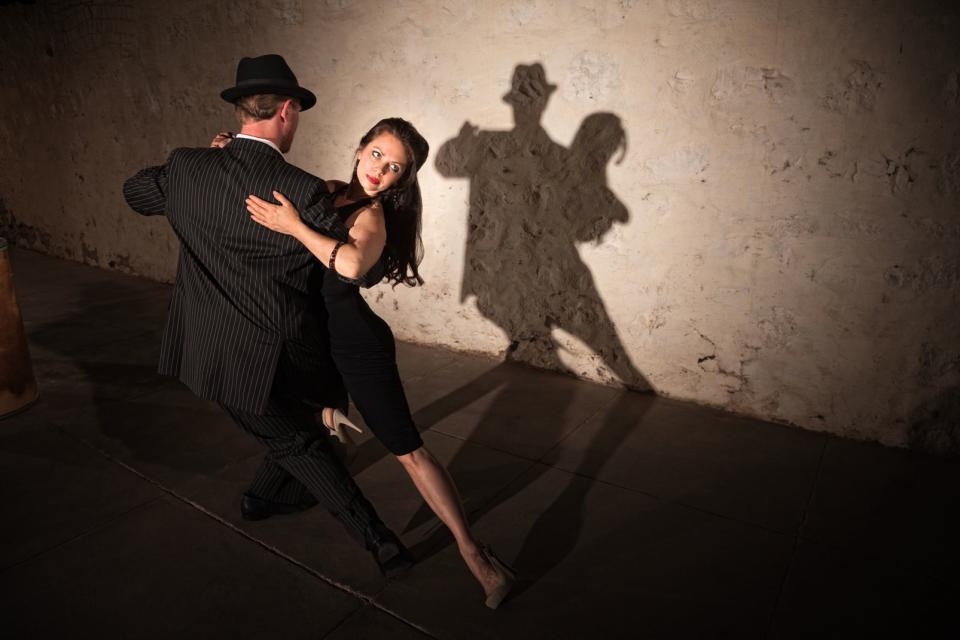 Le tango , Argentine